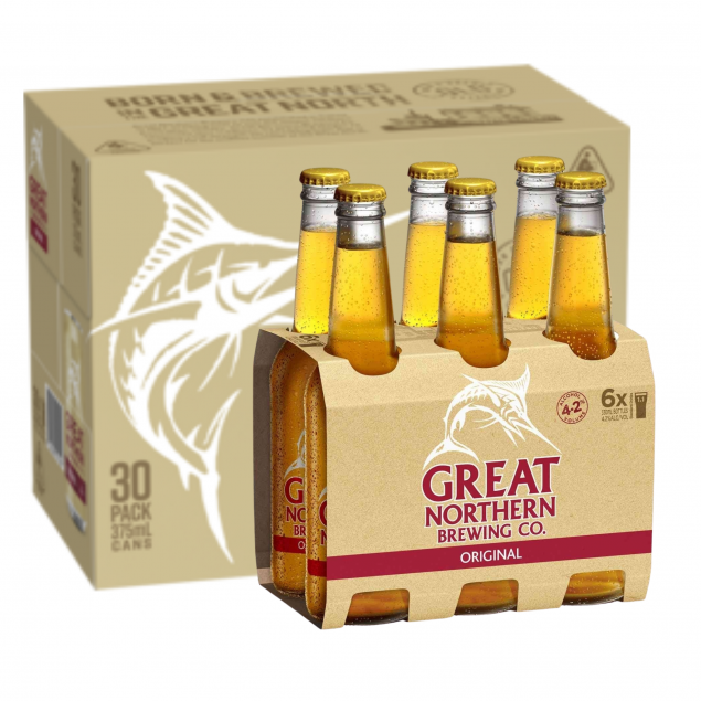 Great Northern Brewing Company Original Lager Bottles 330mL