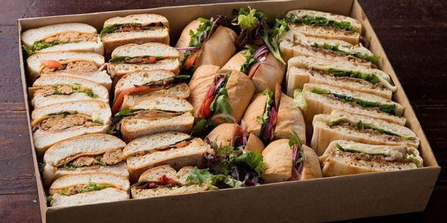 Rushcutters Bay (Mixed Sandwiches & Rolls)
